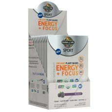 Sport Organic Plant-Based Energy + Focus 14g.