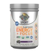 Sport Organic Plant-Based Energy + Focus 432g.